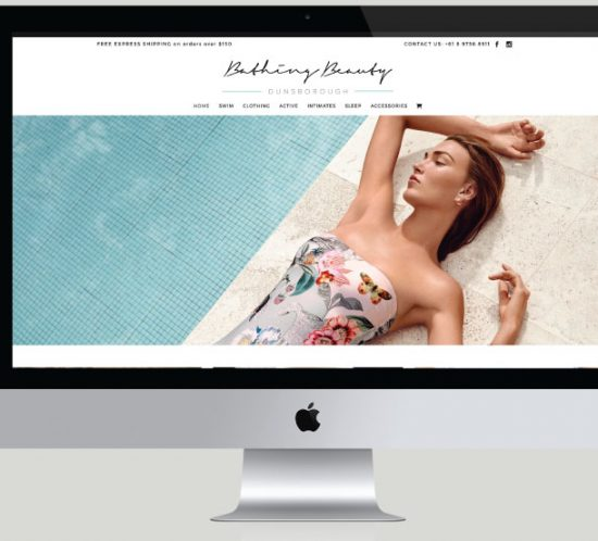 Bathing Beauty Dunsborough E-Commerce Website, White Canvas Design, Website Development, E-Commerce Websites, Mobile App Development, Graphic Design, Strategic Marketing, Perth Western Australia, Marketing Support, Websites, Website Design