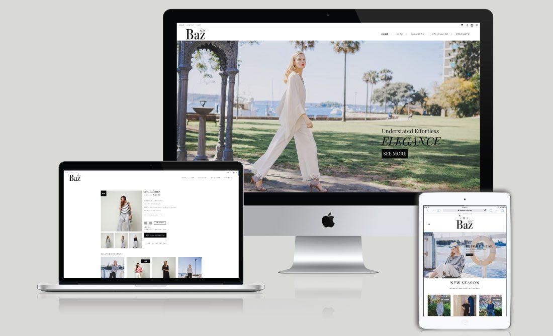 Baz Inc E-Commerce Website, White Canvas Design, Website Development, E-Commerce Websites, Mobile App Development, Graphic Design, Strategic Marketing, Perth Western Australia, Marketing Support, Websites, Website Design